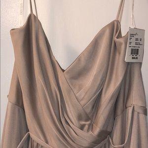 David's Bridal Short Bridesmaid Dress
